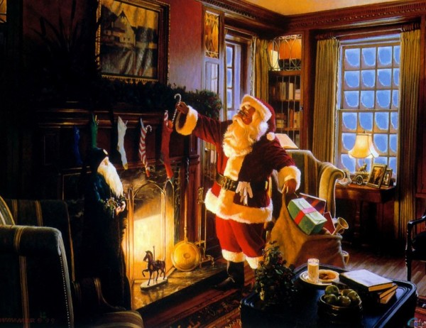 komeyl – Here Comes Santa Clause