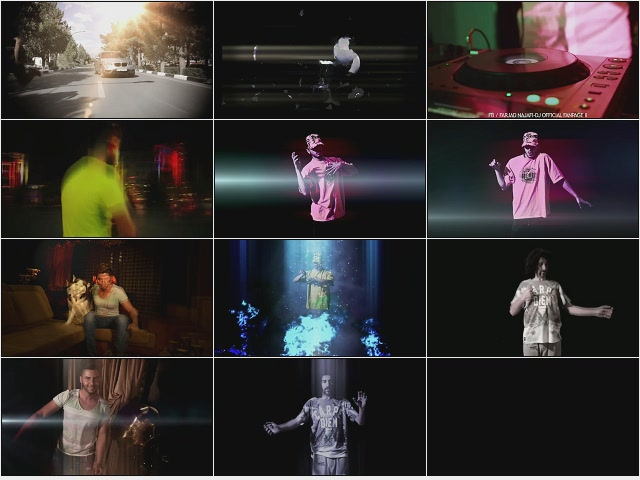 موزیک ویدئو دی جی فرجاد نجفی به نام INception