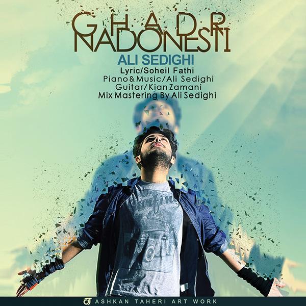 آهنگ جدید علی صدیقی به نام قدر ندونستی