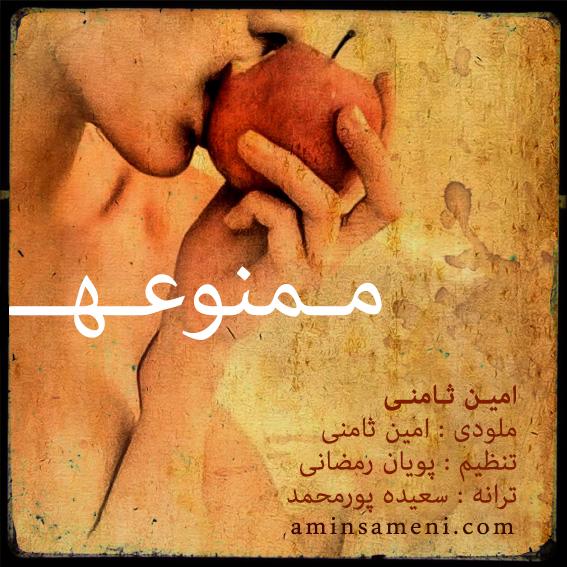 آهنگ جدید امین ثامنی به نام ممنوعه