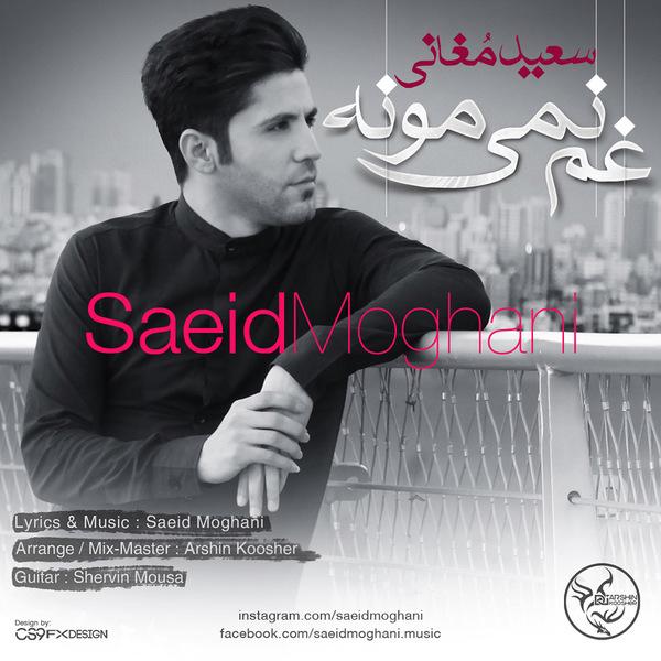 آهنگ جدید سعید مغانی به نام غم نمیمونه