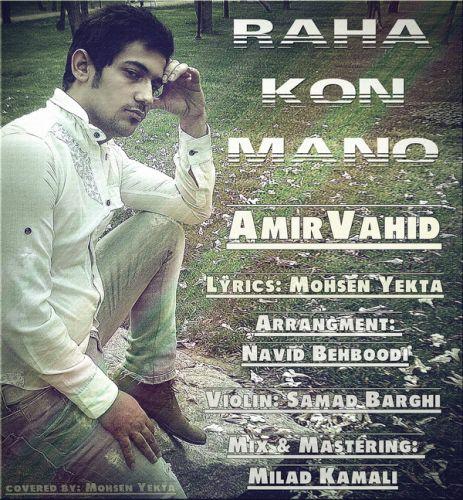Amir Vahid – Raha Kon Mano