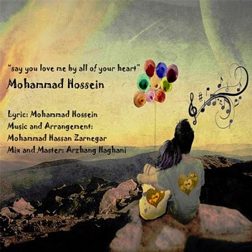 دانلود آهنگ جدید محمد حسین به نام بگو قلبا دوسم داری