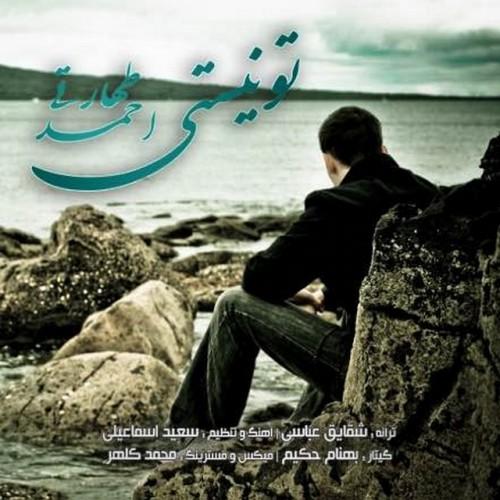 دانلود آهنگ جدید احمد طهارتی به نام تو نیستی