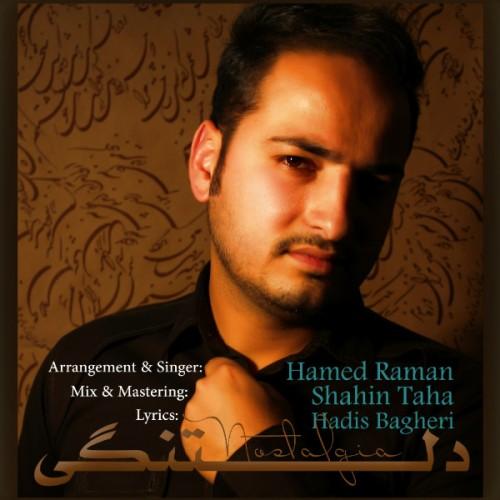 آهنگ جدید حامد رامان به نام دلتنگی