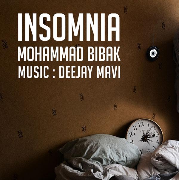دانلود آهنگ جدید محمد بی باک به نام بی خوابی