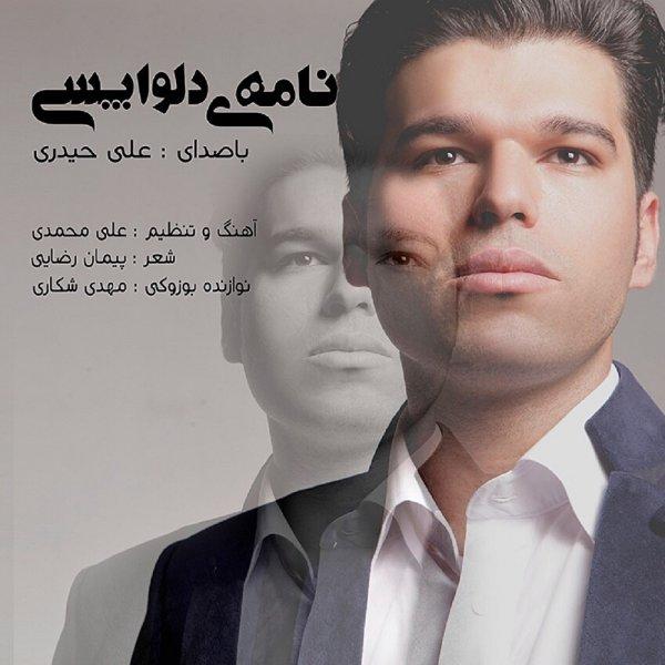 دانلود آهنگ جدید علی حیدری به نام نامه ی دلواپسی