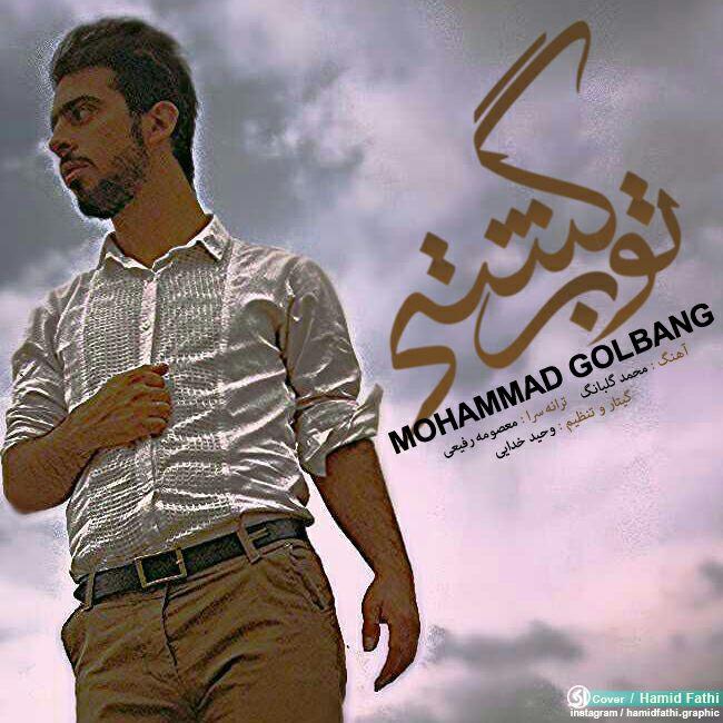 دانلود آهنگ جدید محمد گلبانگ به نام تو برگشتی
