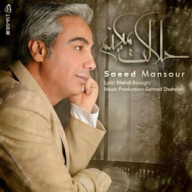 دانلود آهنگ جدید سعید منصور به نام حلالت میکنم