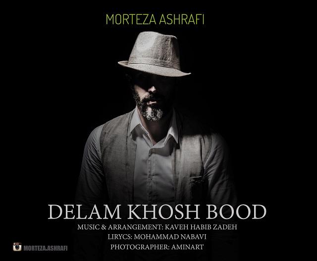دانلود آهنگ جدید مرتضی اشرفی به نام دلم خوش بود
