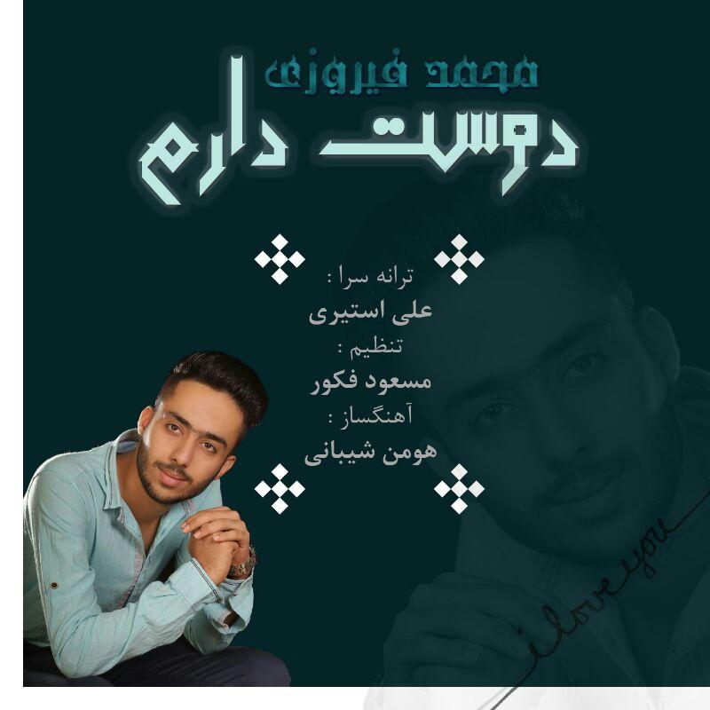 دانلود آهنگ جدید محمد فیروزی به نام دوست دارم