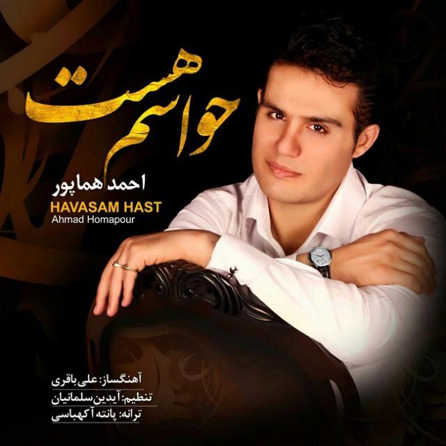 دانلود آهنگ جدید احمد هماپور به نام حواسم هست