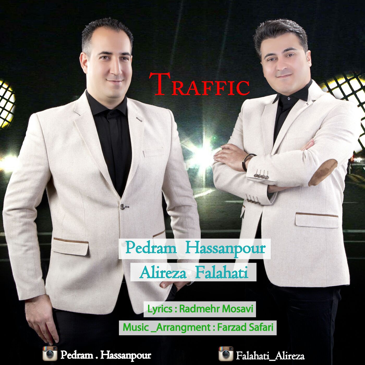 دانلود آهنگ جدید علیرضا فلاحتی و پدرام حسن پور به نام ترافیک