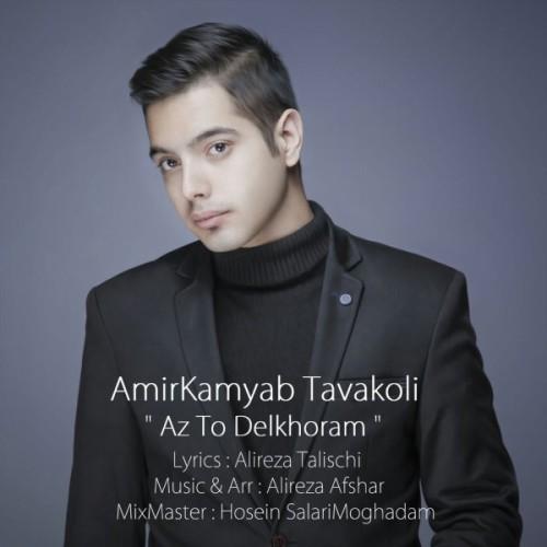 دانلود آهنگ جدید امیرکامیاب توکلی به نام از تو دلخور