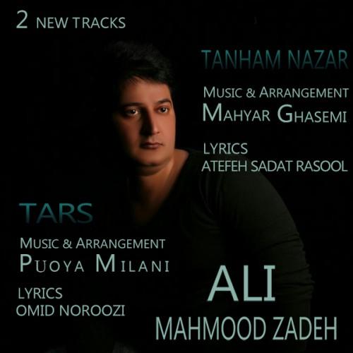 دانلود دو آهنگ جدید علی محمود زاده به نام تنهام نزار و ترس