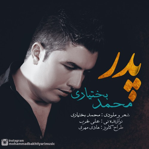 دانلود آهنگ جدید محمد بختیاری به نام پدر