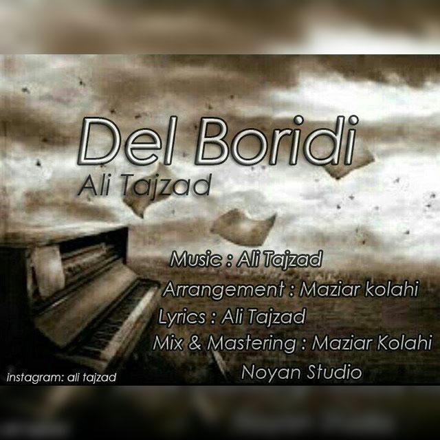 دانلود آهنگ جدید علی تاج زاد بنام دل بریدی