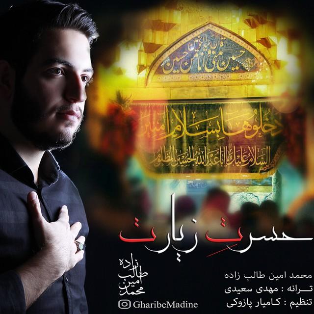 دانلود آهنگ جدید محمد امین طالب زاده بنام حسرت زیارت