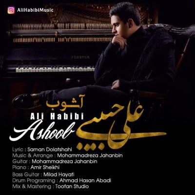 دانلود آهنگ جدید علی حبیبی بنام آشوب