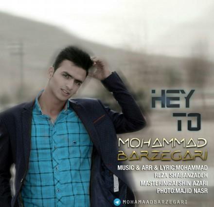 دانلود آهنگ جدید محمد برزگری به نام هی تو