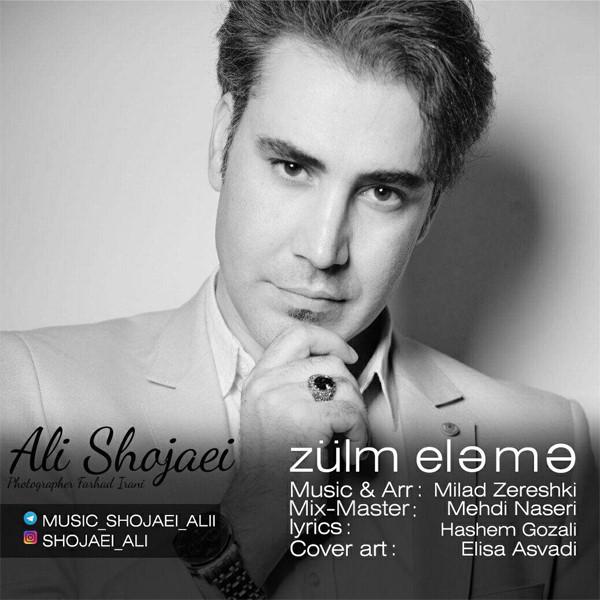 دانلود آهنگ جدید علی شجاعی بنام Zulm Eleme