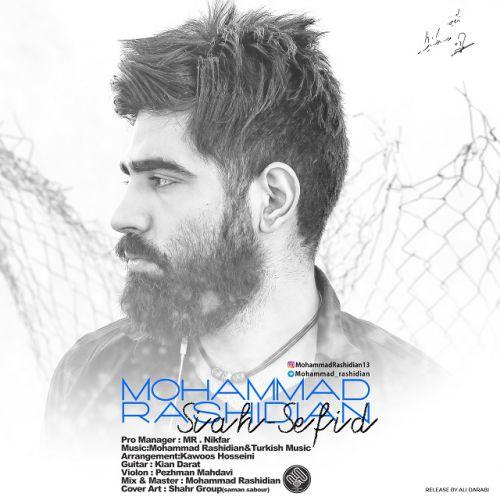 دانلود آهنگ جدید محمد رشیدیان بنام سیاه سفید