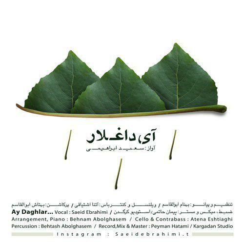دانلود آهنگ جدید سعید ابراهیمی بنام ای داغلار