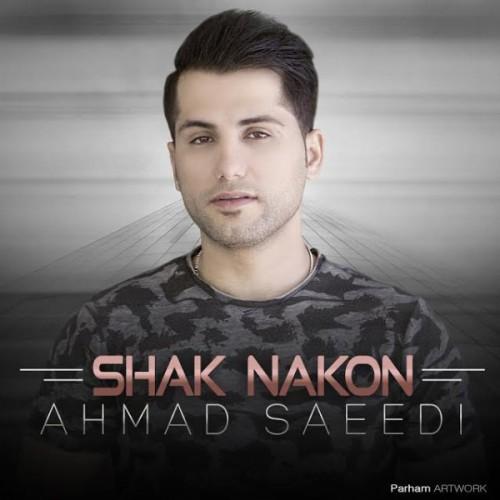 دانلود آهنگ احمد سعیدی به نام شک نکن