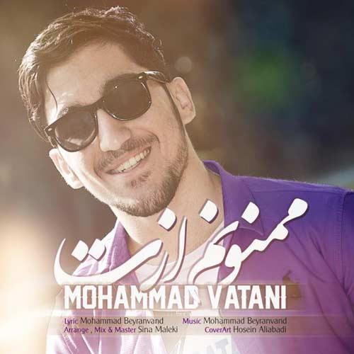 دانلود آهنگ جدید محمد وطنی بنام ممنونم ازت