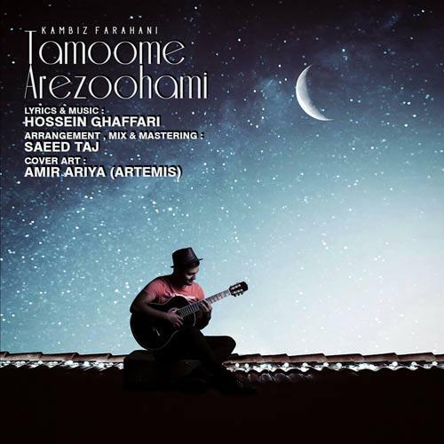 دانلود آهنگ جدید کامبیز فراهانی بنام تموم آرزوهامی