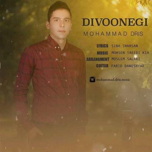 دانلود آهنگ جدید محمد دریس بنام دیوونگی