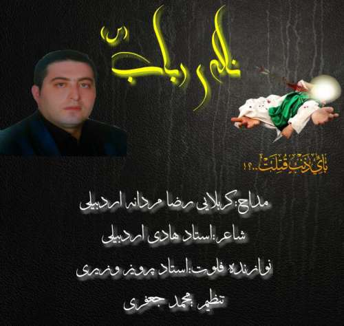 دانلود مداحی رضا مردانه اردبیلی بنام ناله رباب