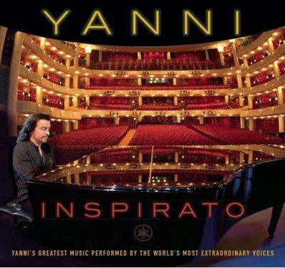 دانلود آلبوم جدید و بسیار زیبا از Yanni به نام Inspirato